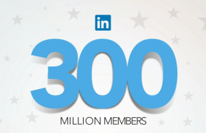 Linkedin a quota 300 milioni di utenti