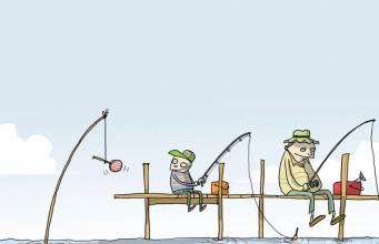 Fonte: http://2.bp.blogspot.com/-kmngHYq8tSE/UZKKVBRRV4I/AAAAAAAAKuc/0q7dZaewi0w/s1600/funny-shark-fishing.png