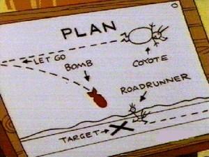 Blogging: 5 cose che ho imparato da Wile E. Coyote strategia