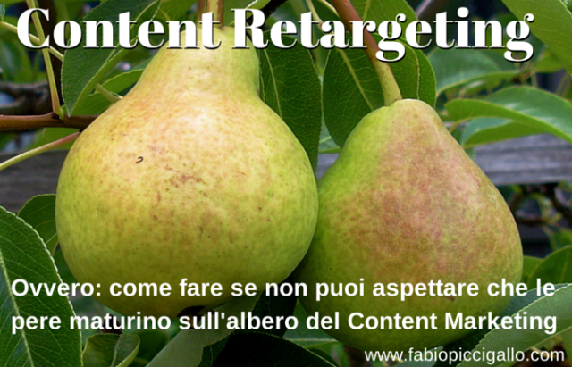 Content Retargeting: il retargeting applicato al content marketing