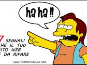 7 chiari segnali che il tuo sito web è da rifare