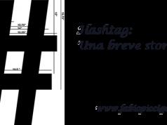 Hashtag: una breve storia