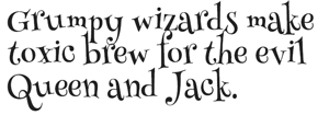 henny penny font
