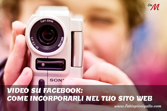 Come incorporare un video da Facebook sul tuo sito web
