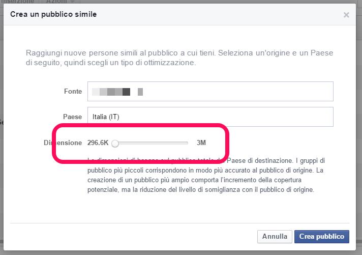 Come creare un pubblico simile su Facebook