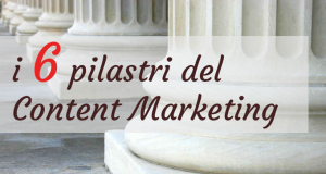 i 6 pilastri del content marketing