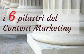 i 6 pilastri del content marketing