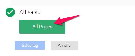 corso Google tag manager