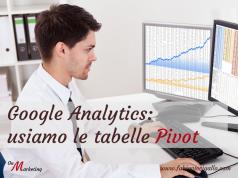 Analyics: come utilizzare le tabelle Pivot per analizzare i tuoi dati