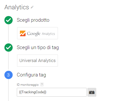 Guida a Google Tag Manager