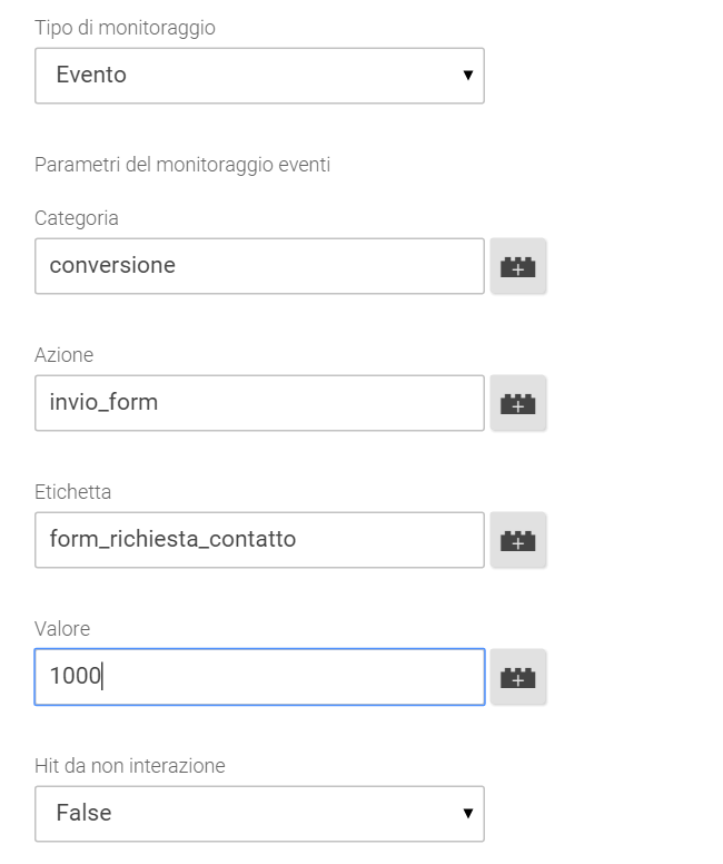 form event tag google tag manager